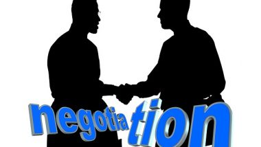 negotiate don't haggle